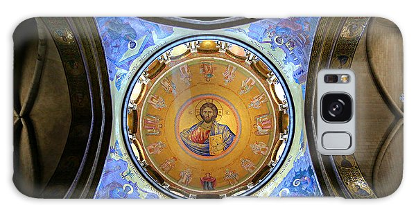 Sacred Heart Galaxy Case - Church Of The Holy Sepulchre Catholicon by Stephen Stookey
