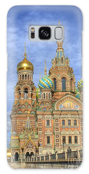 Church Of The Saviour On Spilled Blood. St. Petersburg. Russia Galaxy Case