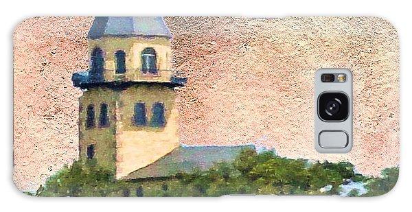Church On Hill Galaxy Case by Janette Boyd