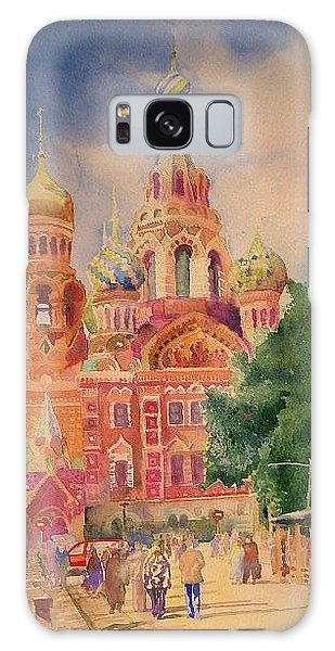 Church On The Spilt Blood Galaxy Case by Alla Parsons