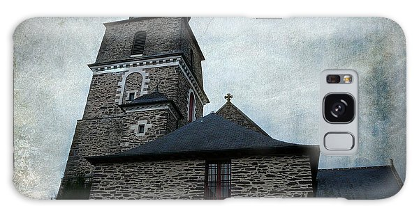 Church Saint Malo Galaxy Case by Barbara Orenya