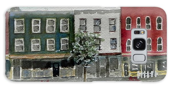 Pennsylvania - Church Street In Montrose Galaxy Case