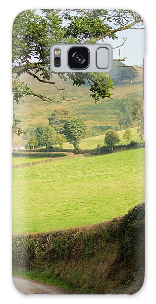 Church Stretton Countryside Galaxy Case