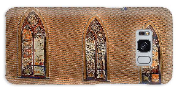 Church Windows Galaxy Case