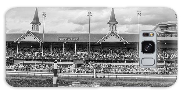 Churchill Downs And Twin Spires  Galaxy Case by John McGraw