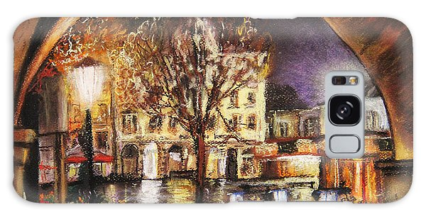 Cieszyn At Night Galaxy Case