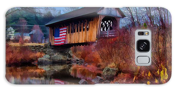 Cilleyville Covered Bridge Galaxy Case by Jeff Folger