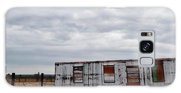 Cima Union Pacific Railroad Station Galaxy Case by Kyle Hanson