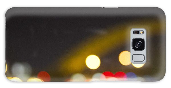 Cincinnati Night Lights Galaxy Case