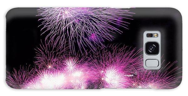 Cincinnati Reds Fireworks Friday Galaxy Case