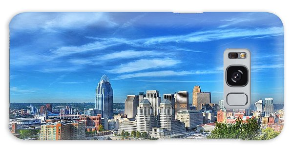 Cincinnati Skyline 2 Galaxy Case