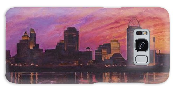 Cincinnati Skyline Galaxy Case