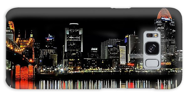 Cincinnati Skyline Dreams 3 Galaxy Case