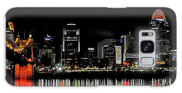 Cincinnati Skyline Dreams 3 Galaxy Case