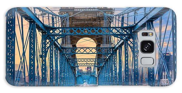 Cincinnati Suspension Bridge Galaxy Case