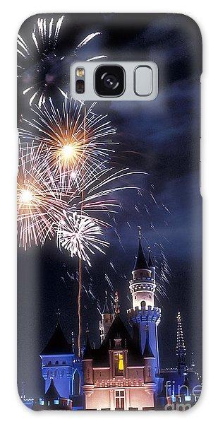 Cinderella Castle Fireworks Iconic Fairy-tale Fortress Fantasyland Galaxy Case