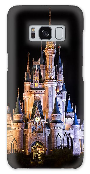 Cinderella's Castle In Magic Kingdom Galaxy Case