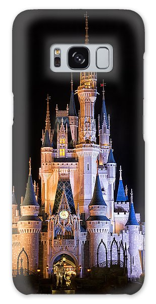 Walt Disney Galaxy Case - Cinderella's Castle In Magic Kingdom by Adam Romanowicz