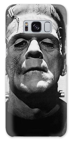 Halloween Galaxy Case - Cinema Frankenstein by Daniel Hagerman