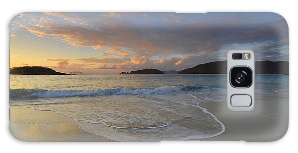 Cinnamon Bay At Sunset Galaxy Case