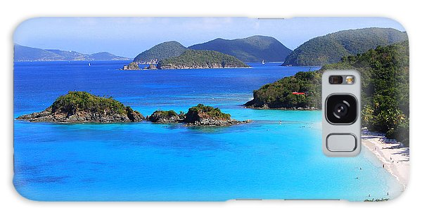 Cinnamon Bay St. John Virgin Islands Galaxy Case