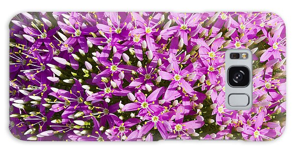 Centrifugal Mountain Pink Flowers Galaxy Case