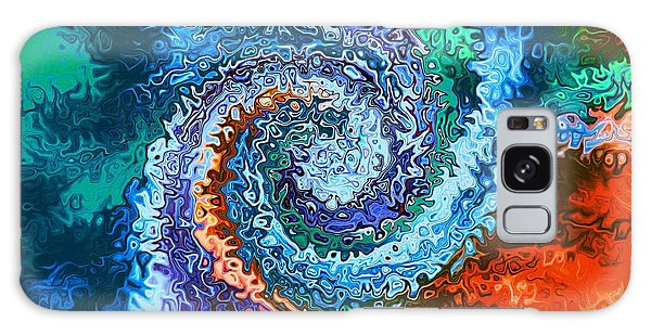 Circle Of Colors Abstract Art Galaxy Case