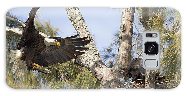 Bald Eagle Nest Galaxy Case by Doug McPherson