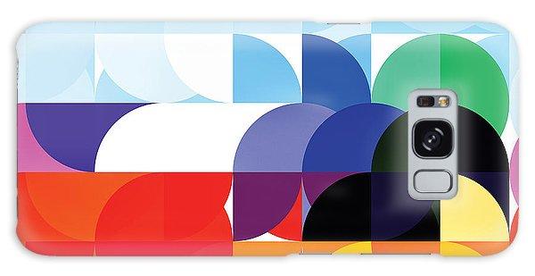 Circle Ship Abstract Galaxy Case by The Art of Marsha Charlebois