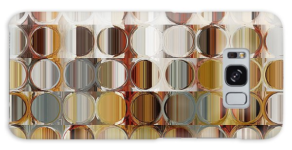 Circles And Squares 36. Modern Abstract Fine Art Galaxy Case by Mark Lawrence