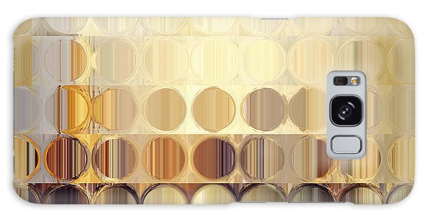 Circles And Squares 37. Modern Abstract Fine Art Galaxy Case by Mark Lawrence