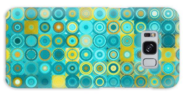 Circles And Squares 6. Modern Home Decor Art Galaxy Case