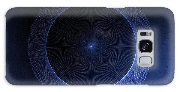 Circles Don't Exist Pi 180 Galaxy Case