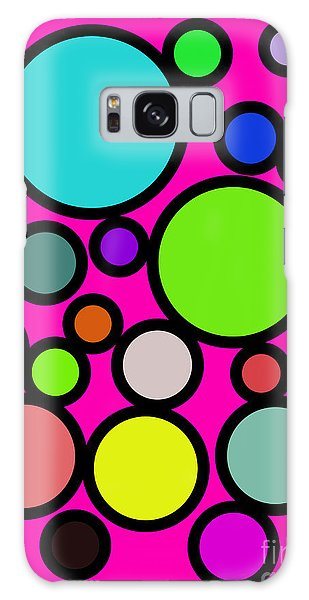 Circles Galore Galaxy Case