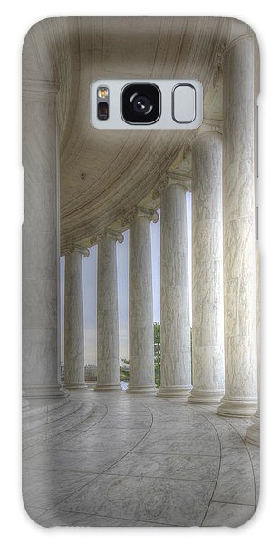 Circular Colonnade Of The Thomas Jefferson Memorial Galaxy Case
