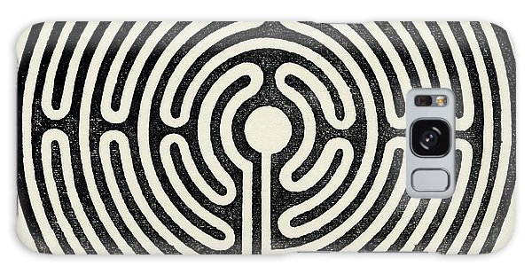 Folklore Galaxy Case - Circular Maze, 12 Metres In  Diameter by Mary Evans Picture Library