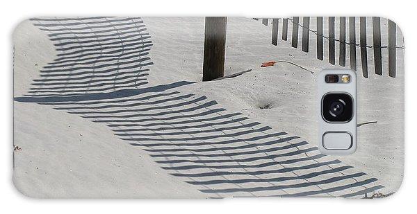 Circus Beach Fence Galaxy Case by Ellen Meakin