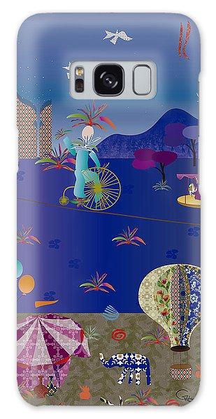 Circus Juggler Galaxy Case