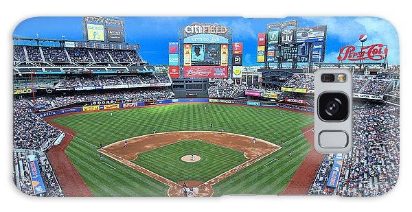 Citi Field Galaxy Case by Allen Beatty