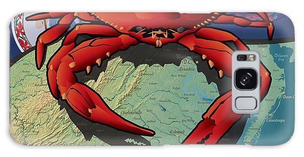 Citizen Crab Of Virginia Galaxy Case