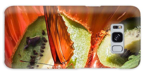 Citrus Butterfly Galaxy Case