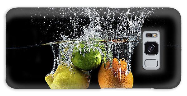 Splash Galaxy Case - Citrus Splash by Mogyorosi Stefan