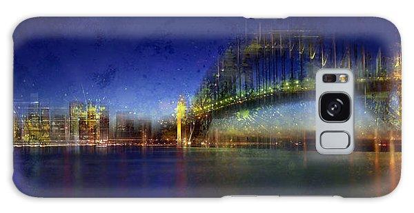 Light Paint Galaxy Case - City-art Sydney by Melanie Viola