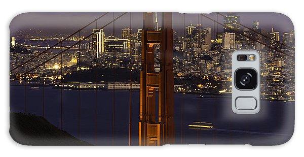 City At Night Galaxy Case
