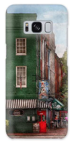 City - Baltimore - Fells Point Md - Bertha's And The Greene Turtle  Galaxy Case