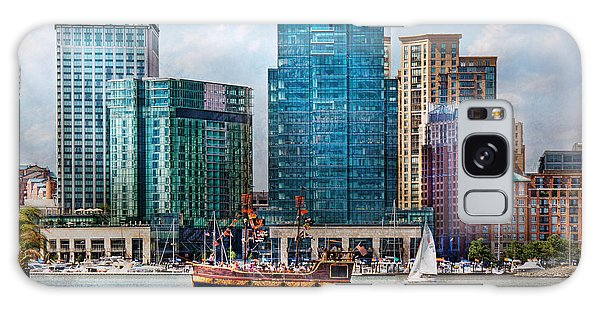 City - Baltimore Md - Harbor East  Galaxy Case