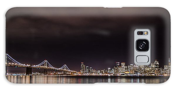 City By The Bay Galaxy Case by Linda Villers