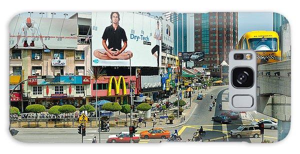 City Centre Scene - Kuala Lumpur - Malaysia Galaxy Case