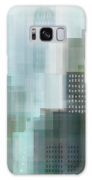 Cityscape Galaxy Case - City Emerald by Dan Meneely