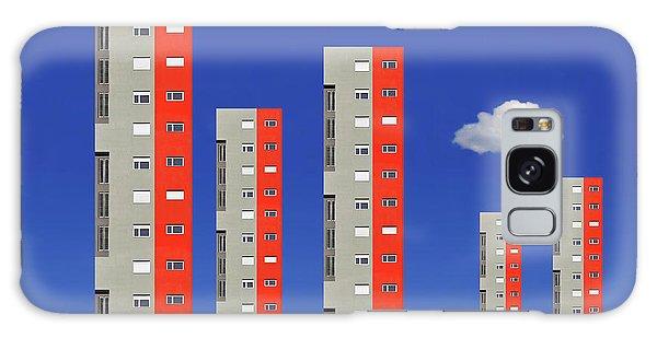 Tall Galaxy Case - City Family by Aleksandar Naumceski